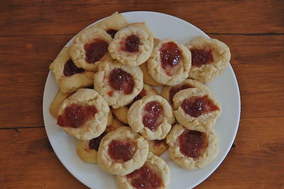 Thumprint cookies 2