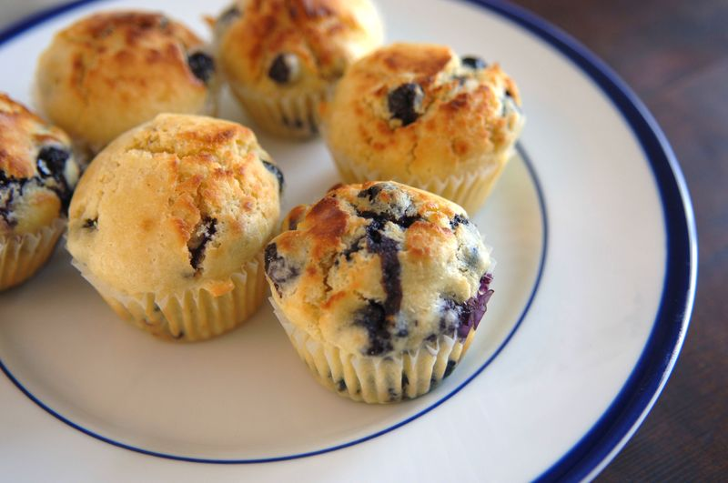 Blueberry muffin 3