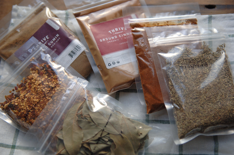 Bulk spices 1
