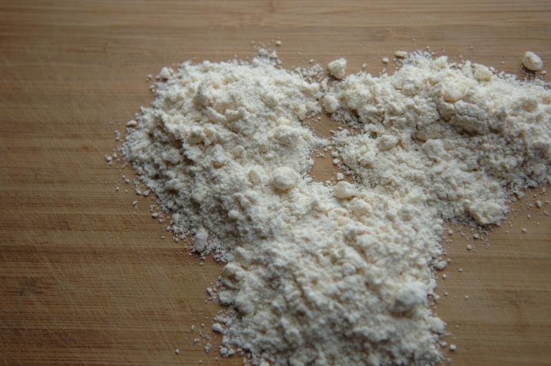 Pie dough coarse meal 2