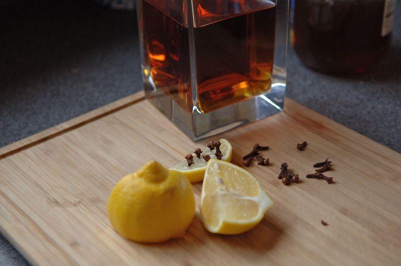 Lemons and whiskey