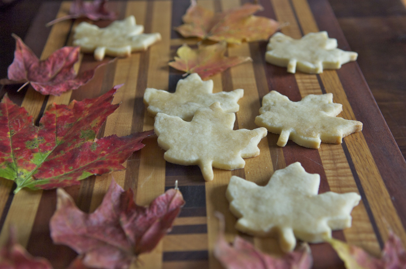 Maple sugar cookies 1