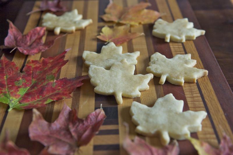 Maple sugar cookies 1