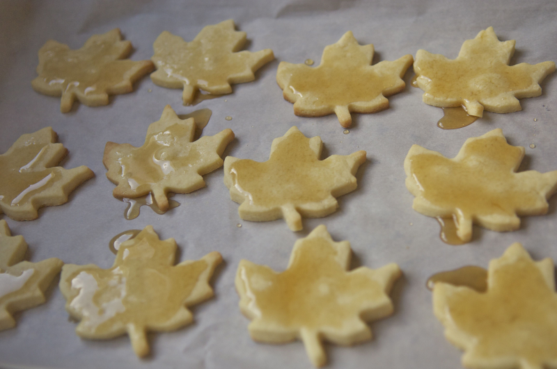 Maple sugar cookies 3