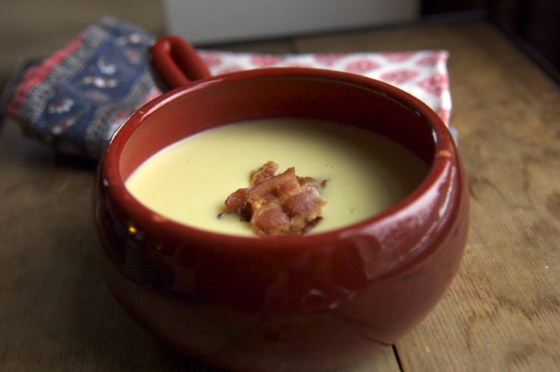 Potato leek soup 2
